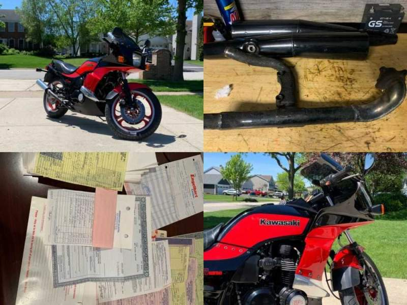 1984 Kawasaki Kawasaki gpz750 turbo Black for sale craigslist