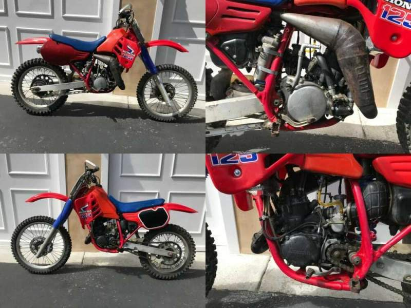 1985 Honda CR Red for sale craigslist photo