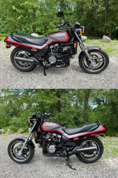 1985 Honda V65 SABRE VF1100S Black for sale craigslist