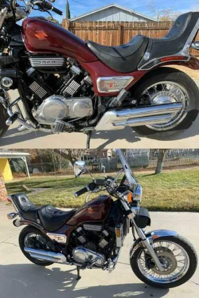 1985 Suzuki Madura 1200 Burgundy for sale craigslist photo