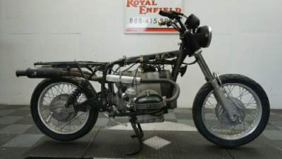 1986 BMW R-Series SOLD FOR PARTS Black for sale