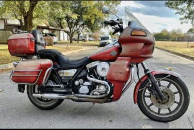 1986 Harley-Davidson FXR  for sale craigslist photo