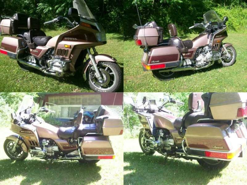 1986 Honda Gold Wing Aspencade Tan for sale craigslist