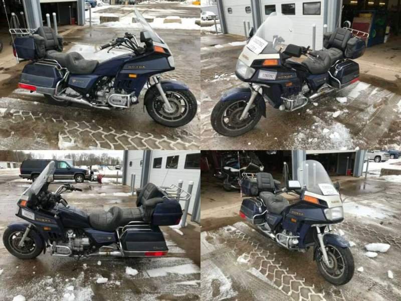 1986 Honda Gold Wing Blue for sale craigslist photo
