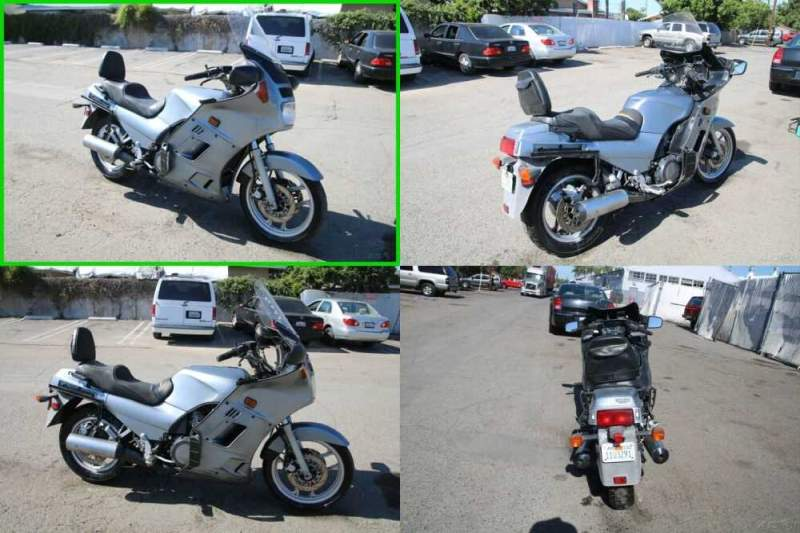 1986 Kawasaki Concours Silver for sale