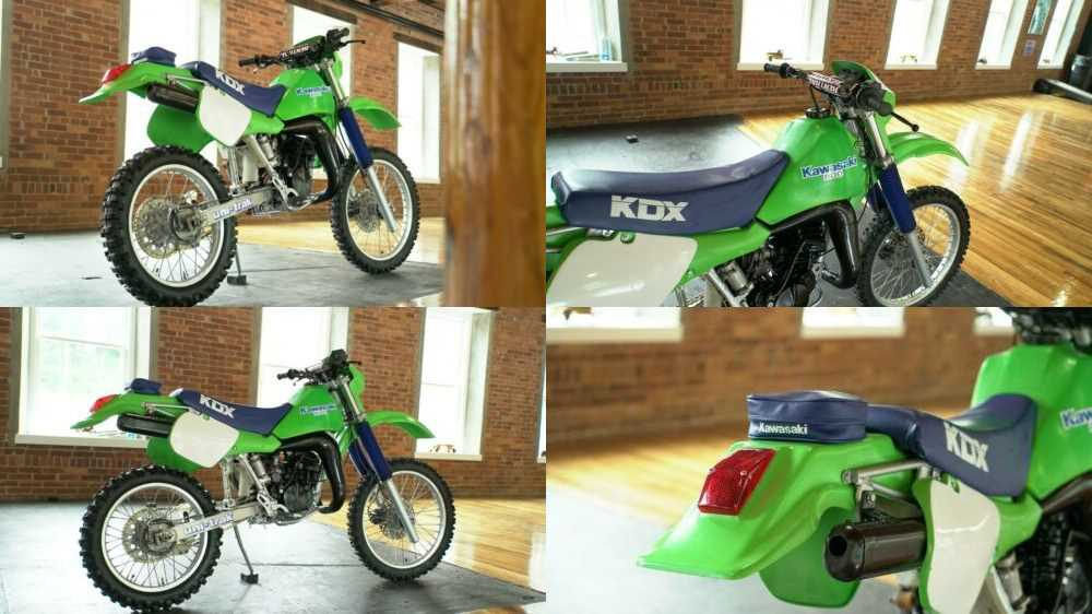 1986 Kawasaki KDX Green for sale