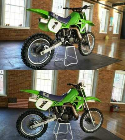 1986 Kawasaki KX for sale craigslist