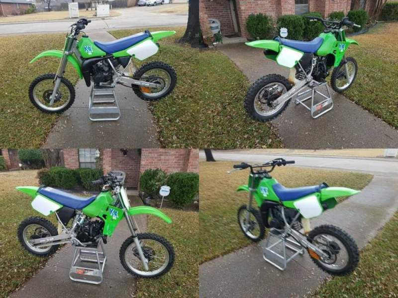 1986 Kawasaki KX  for sale craigslist photo