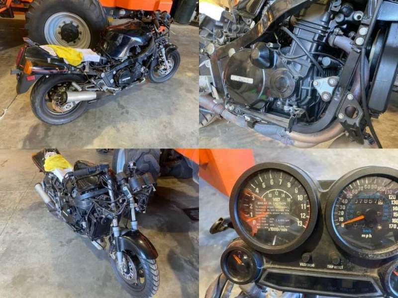 1986 Kawasaki Ninja Black for sale craigslist