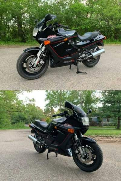 1986 Kawasaki Ninja Black for sale