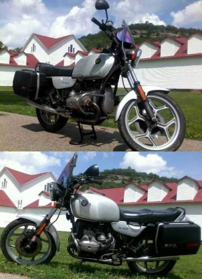 1987 BMW R-Series Silver for sale craigslist photo