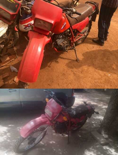 1987 Honda 250R Red for sale