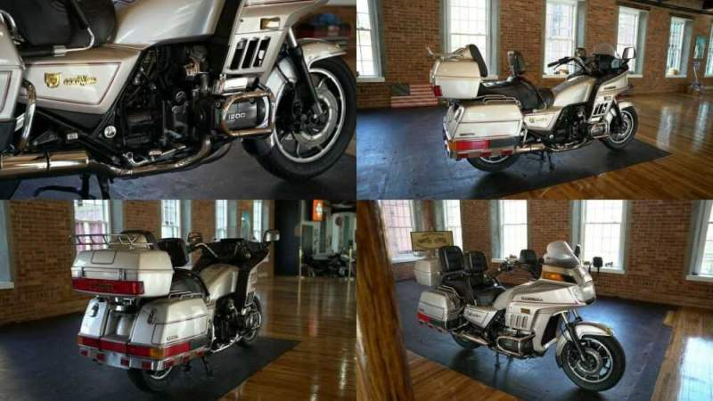 1987 Honda Gold Wing Silver for sale craigslist photo