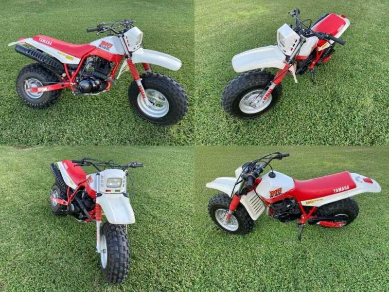 1987 Yamaha BW350 BW 350 White and Red for sale