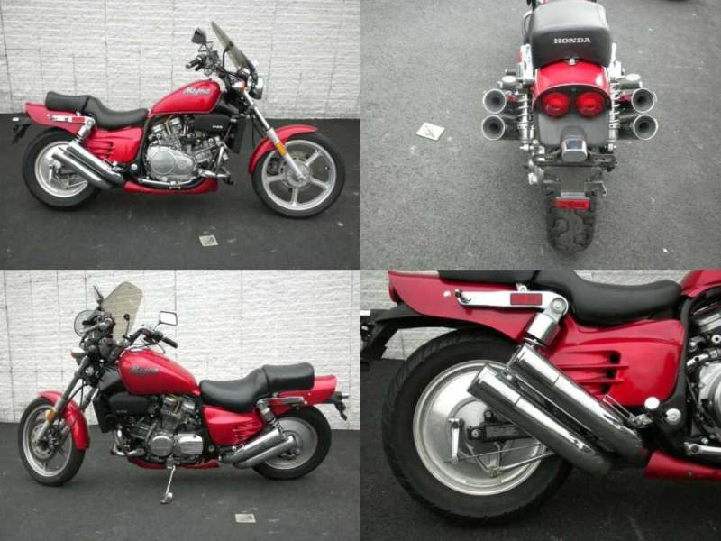 1988 Honda Magna Red for sale craigslist photo