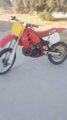 1989 Honda CR Red for sale craigslist photo