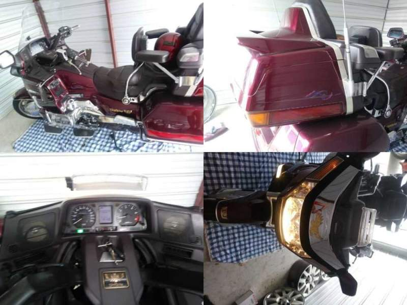 1989 Honda GL1500 Burgundy for sale