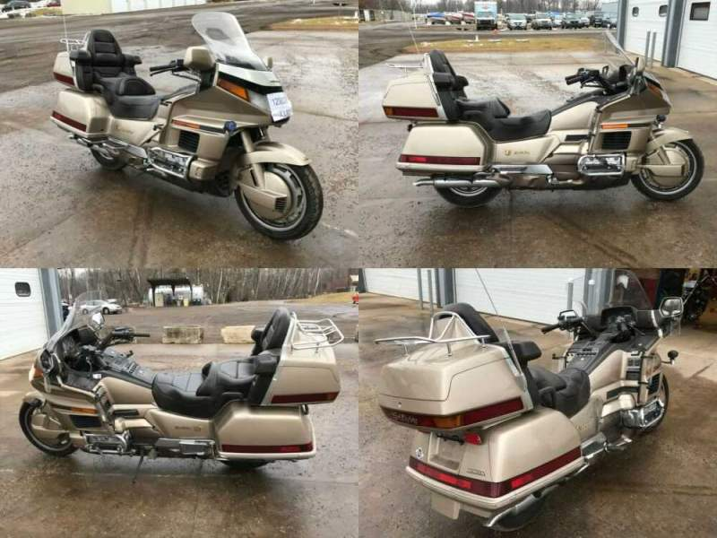 1989 Honda Gold Wing Tan for sale craigslist