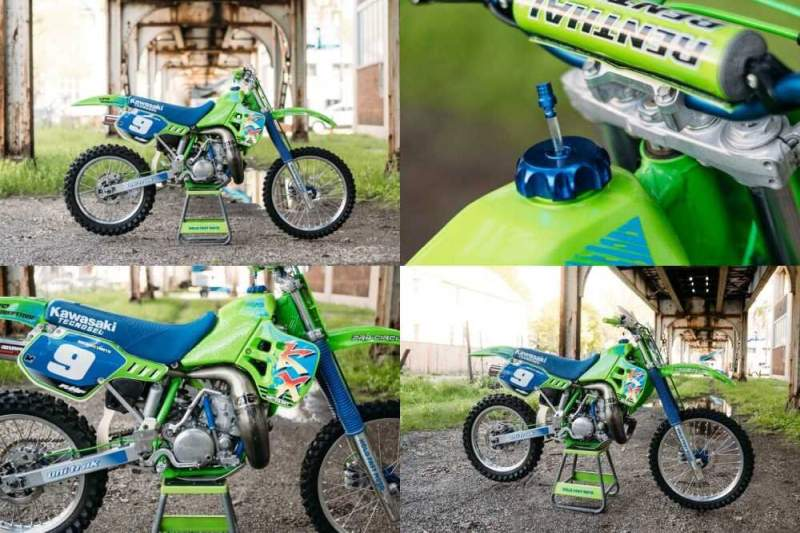1989 Kawasaki KX Green for sale craigslist