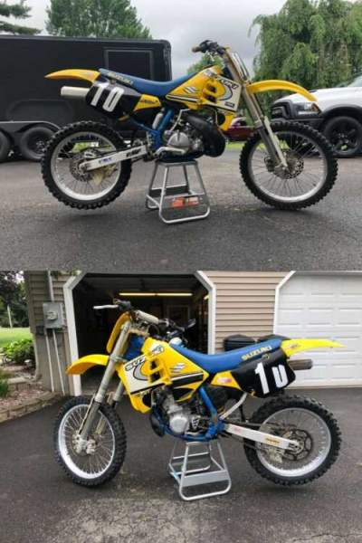 1989 Suzuki RM 250 Yellow for sale