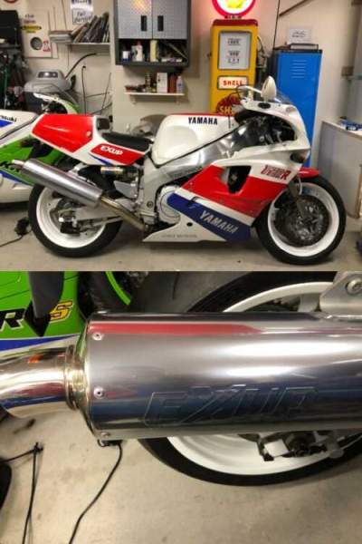 1989 Yamaha FZR 750R OWO1 Red for sale craigslist photo