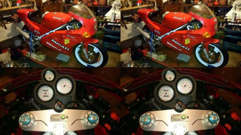 1990 Ducati Superbike Red for sale craigslist photo