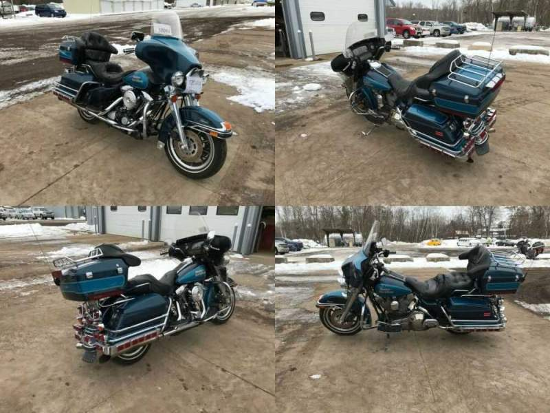 1991 Harley-Davidson FLHTC Blue for sale craigslist photo
