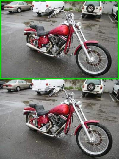 1991 Harley-Davidson Softail Softail® Custom Burgundy for sale