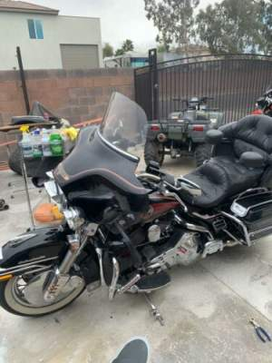 1991 Harley-Davidson Touring Black for sale craigslist photo