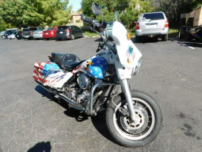 1991 Harley-Davidson Touring White for sale craigslist photo