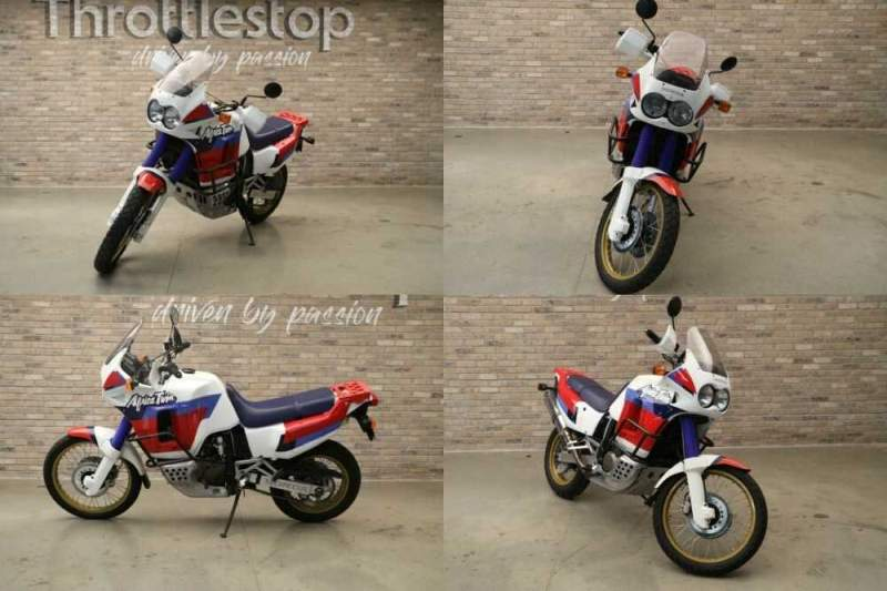 1991 Honda Africa Twin XRV750T White for sale craigslist photo