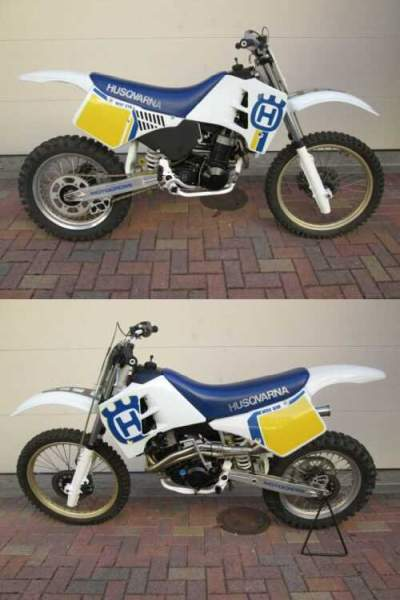 1991 Husqvarna 610WMX White for sale craigslist photo