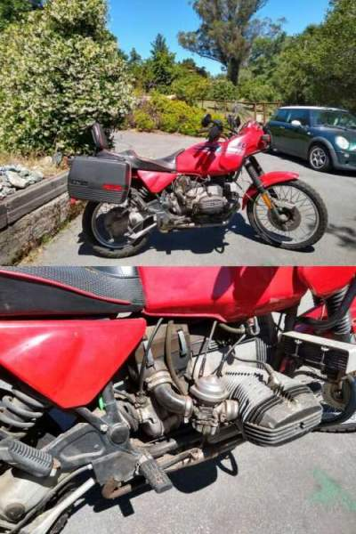1992 BMW R-Series Red for sale craigslist photo