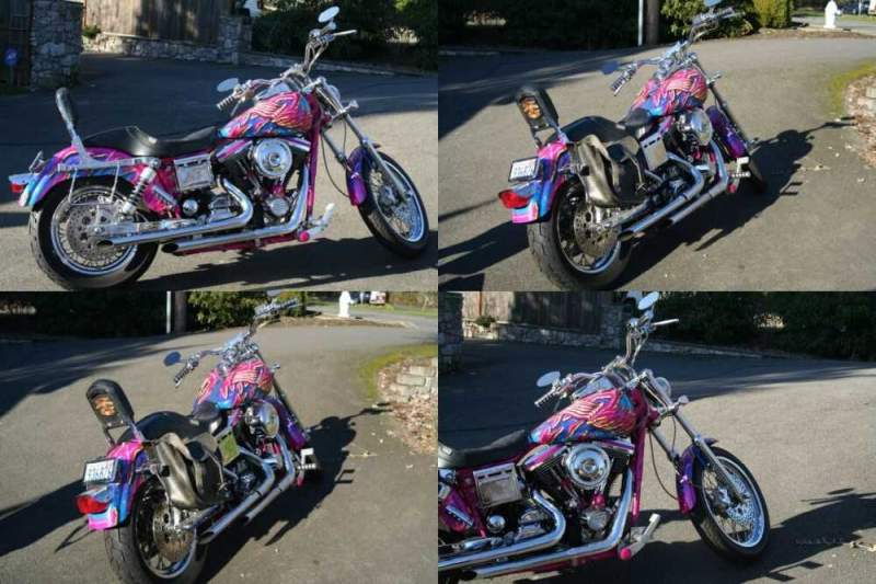 1992 Harley-Davidson Dyna Custom Paint for sale craigslist photo