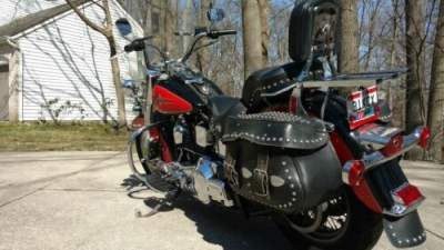 1992 Harley-Davidson Softail Black And Red for sale craigslist