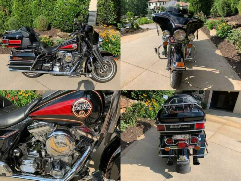 1992 Harley-Davidson Touring Black for sale