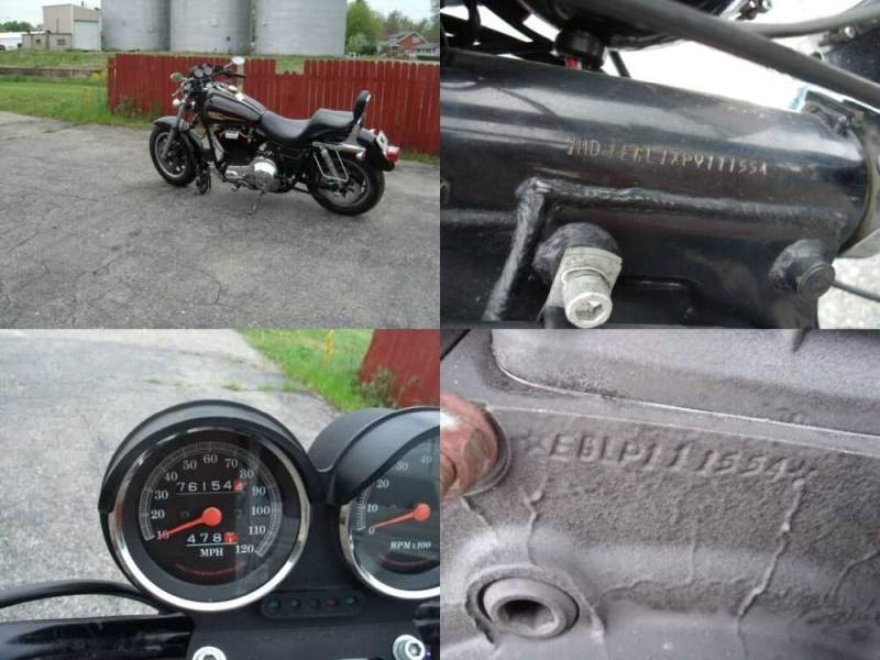 1993 Harley-Davidson FXR Black for sale