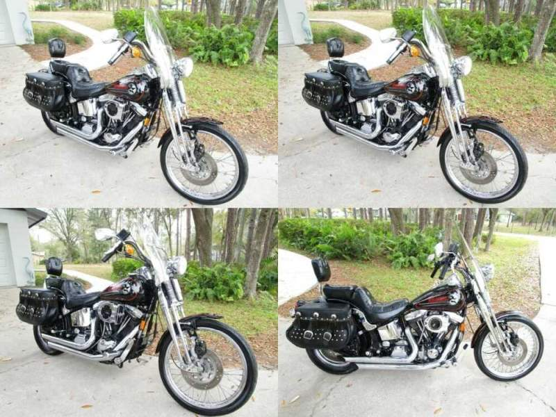 1993 Harley-Davidson Softail Black for sale