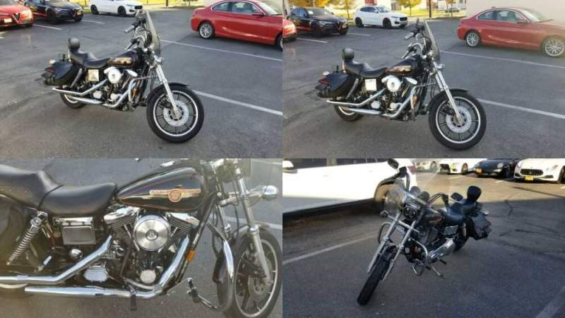 1994 Harley-Davidson Dyna Black for sale craigslist photo