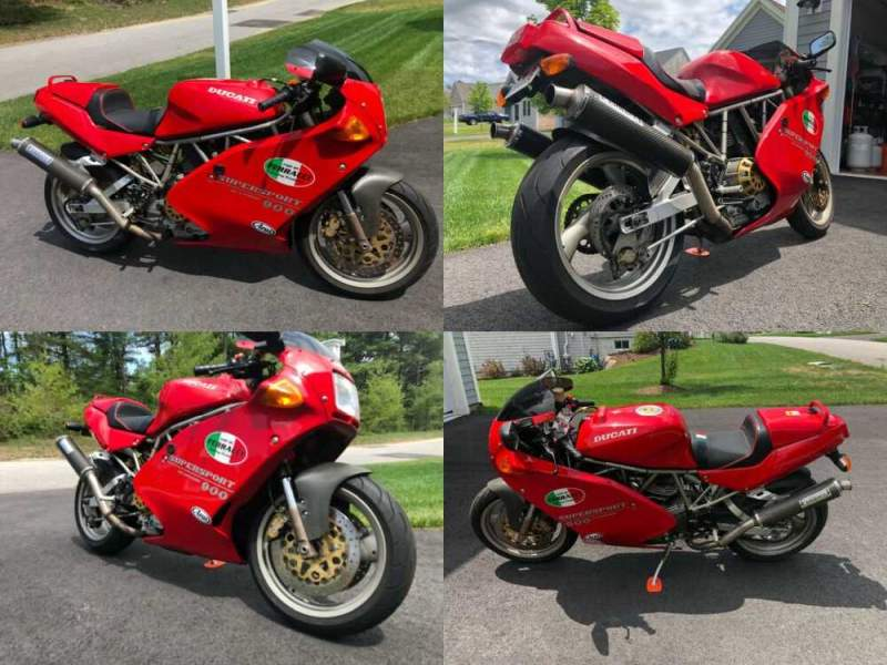 1995 Ducati Superbike Red for sale
