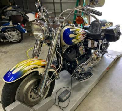 1995 Harley-Davidson Softail Multi color flames for sale