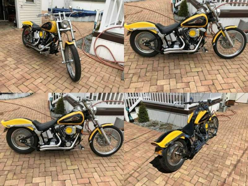 1995 Harley-Davidson Softail Yellow for sale