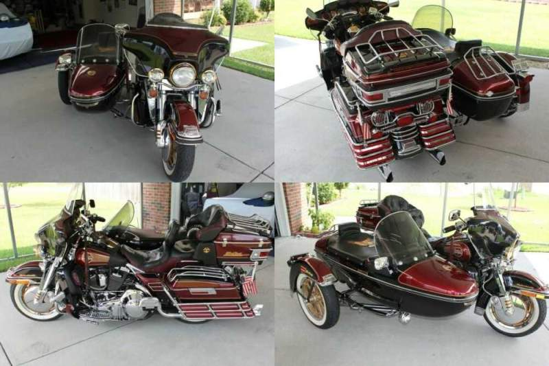 1995 Harley-Davidson Touring Burgundy for sale craigslist