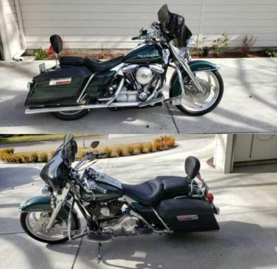 1996 Harley-Davidson Road King Green for sale