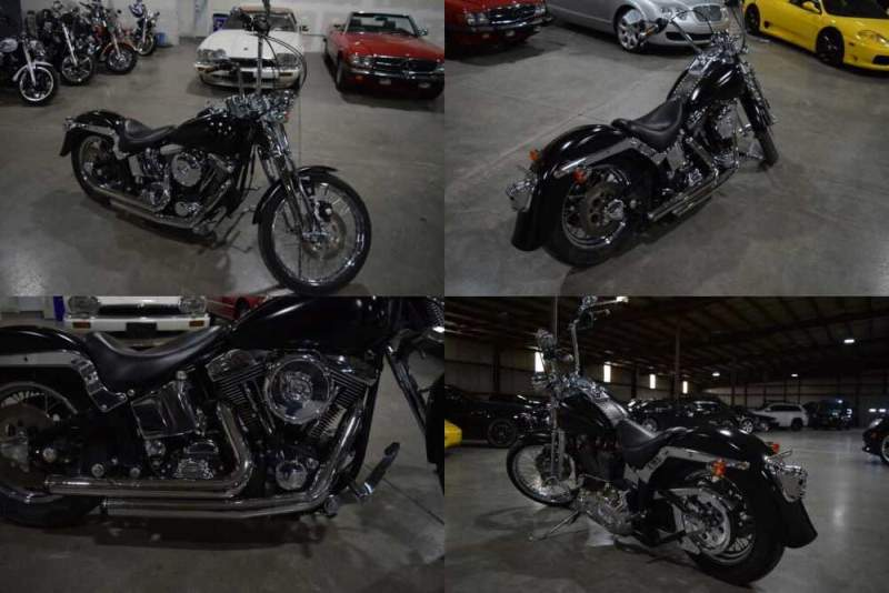 1996 Harley-Davidson Softail Springer Black for sale craigslist photo