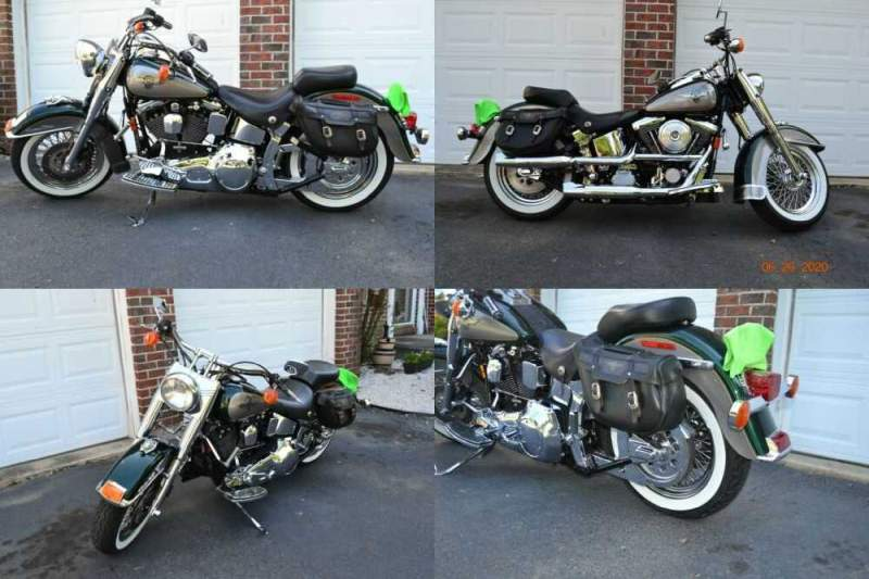 1996 Harley-Davidson Softail Green for sale