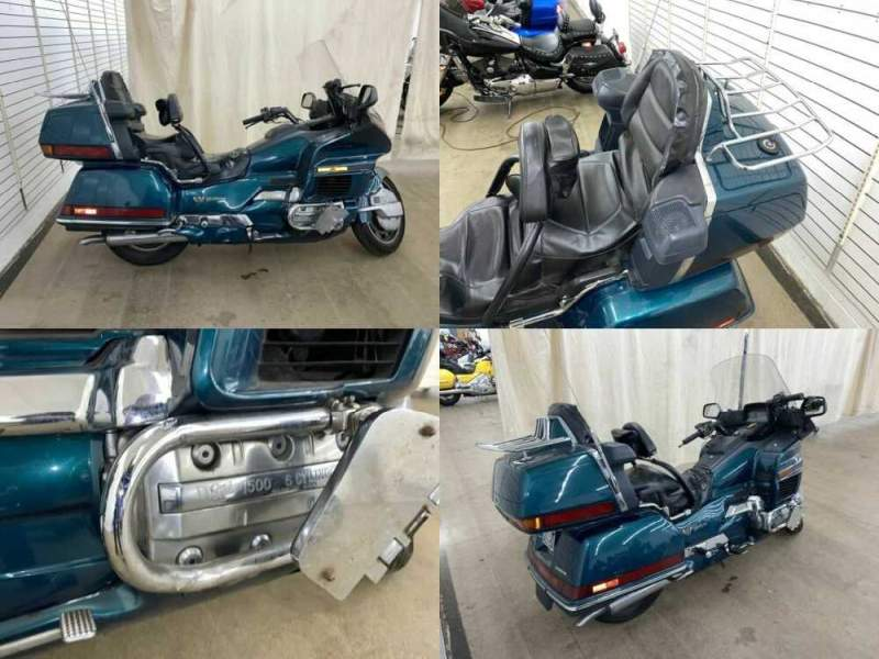 1996 Honda Gold Wing Green for sale craigslist photo