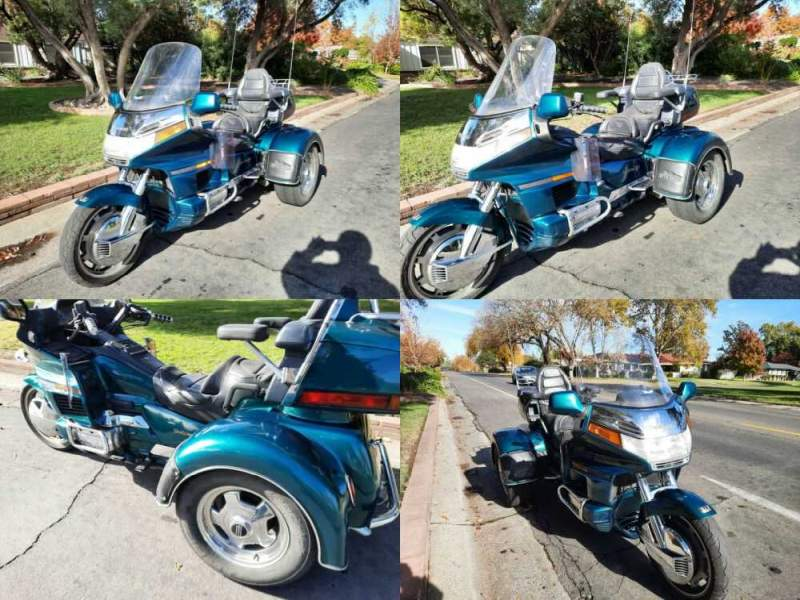 1996 Honda Gold Wing PEARL SIERRA GREEN for sale craigslist