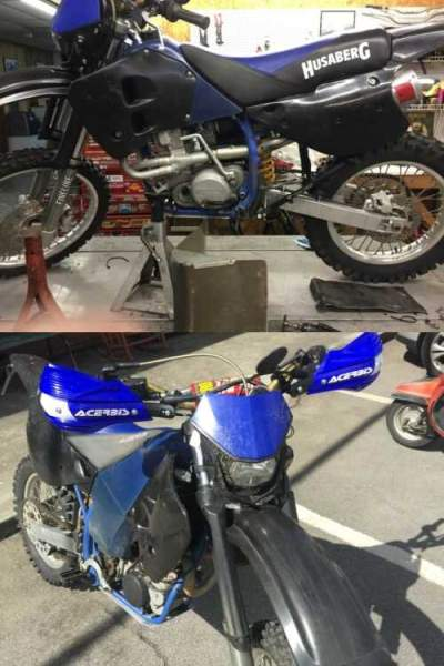 1996 Husaberg FE600e Blue for sale craigslist photo