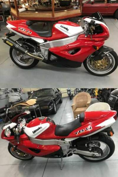 1997 Bimota YB11 Red for sale craigslist photo